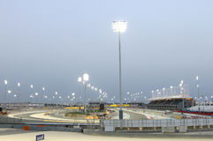 Bahrain Formula 1 circuit ready for 1st night race Stock Image