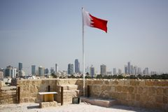 Bahrain Fort Royalty Free Stock Photos