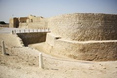 Bahrain Fort Stock Photography