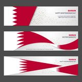 Bahrain independence day abstract background design banner and f. Lyer, postcard, landscape, celebration vector illustration - This Vector EPS 10 illustration is vector illustration