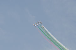 Bahrain international air show 2012 Royalty Free Stock Photography