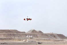 Bahrain International Airshow 2012, Gyrocopter Royalty Free Stock Photo