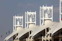 Bahrain International Circuit in Manama Stock Image