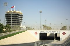 Bahrain International Circuit Stock Photos
