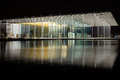 Bahrain National Theatre at night Stock Photography