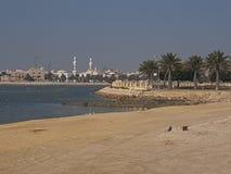 Bahrain island stock image