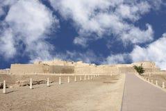 bahrain kierunku wschodni fortu południe widok Zdjęcia Royalty Free