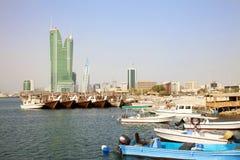 bahrain manama Arkivbild