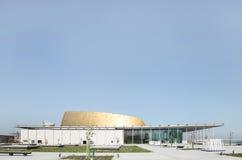 Bahrain medborgareteater, en beskåda från västra Royaltyfria Foton