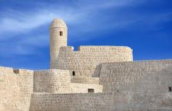 bahrain narożnikowy fortu południe wierza zegarek Zdjęcia Stock