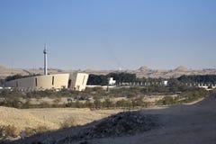 Bahrain National Charter Monument. A landscape composition of Bahrain National Charter Monument showing its surroundings stock image