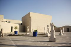 Bahrain National Museum in Manama. The capital of Bahrain. It was opened in 1988 and possesses a rich collection of Bahrain's ancient archaeological artifacts Royalty Free Stock Images