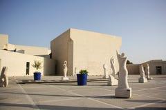 Bahrain nationellt museum i Manama Royaltyfria Bilder