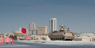 Bahrain Peacekeeping Troops stock photo