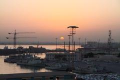bahrain port Zdjęcia Royalty Free