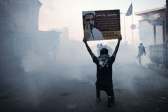 BAHRAIN-PROTEST-POLITICAL DETAINEE-PEOPLE Stockfotos