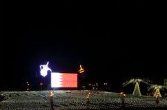 Bahrain 43rd nationell dag på Muharraq, Bahrain Arkivbild