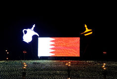 Bahrain 43rd nationell dag på Muharraq, Bahrain Royaltyfri Foto