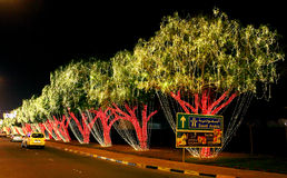 Bahrain 43rd nationell dag på Muharraq, Bahrain Arkivbilder