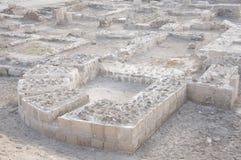 bahrain rubieżnych fortu odcisków zewnętrzne ruiny Zdjęcia Royalty Free