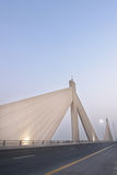 Bahrain - Shaikh Isa Bin Salman Bridge Royalty Free Stock Images