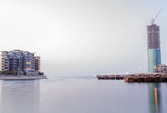 Bahrain shoreline Royaltyfri Bild