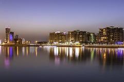 Bahrain shoreline Arkivbilder