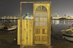 Bahrain shoreline Arkivfoto