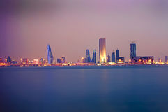 Bahrain shoreline Arkivfoton