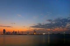 Bahrain-Skyline Stockfotos
