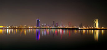 Bahrain skyline, HDR Royalty Free Stock Images