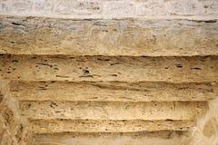 bahrain sufitu daty fort robi palmowemu bagażnikowi Zdjęcie Stock