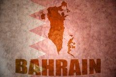 Bahrain vintage map Stock Photo