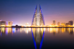 Bahrain-World Trade Center stockbilder