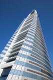 Bahrain World Trade Center complex facade Stock Photo