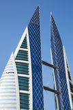 Bahrain World Trade Center, Manama Royaltyfri Fotografi