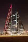 Bahrain World Trade Center Royalty Free Stock Photos