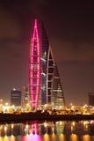 Bahrain World Trade Center Skyscraper Stock Photography