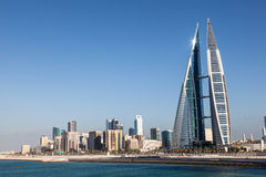 Bahrain World Trade Center Royalty Free Stock Photo