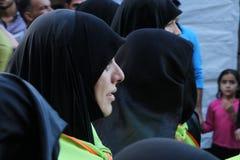 Bahrainis Shiite pilgrims Stock Image