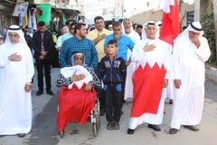 Bahrainis Shiite pilgrims Stock Photography