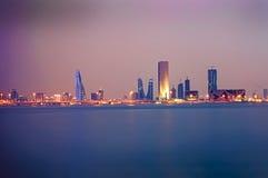 Bahrajn linia brzegowa zdjęcia stock