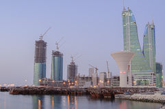 Bahrajn linia horyzontu zdjęcia stock
