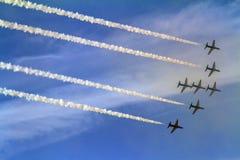 Bahrajn pokazu lotniczego pokaz Zdjęcie Stock
