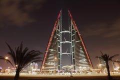 Bahrajn world trade center drapacz chmur Obrazy Stock