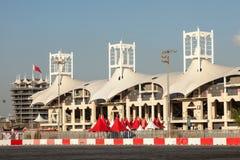 Bahrajn zawody międzynarodowi obwód Obraz Stock