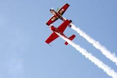 BAHREIN el 16 de diciembre de 2011: Día nacional Airshow de Bahrein Foto de archivo libre de regalías