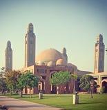 Bahria镇盛大清真寺 免版税图库摄影