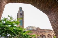 Bahria moské lahore Arkivbild