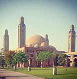 Bahria town grand mosque royalty free stock photography